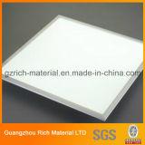 天井灯のパネルのための乳白色の白い四角のプラスチックPSの照明拡散器シート