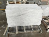 Carrare White Marble Vanity Top pour Bathroom
