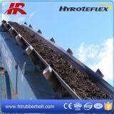 Bande de conveyeur en caoutchouc de courroie de tissu plat de PE pour l'usine de la colle