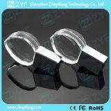 Kristallinner-Form USB-Blitz-Laufwerk mit Firmenzeichen 3D (ZYF1523)