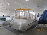 Liya 6.2m aufblasbares Marinefiberglas, das zartes Boot fischt