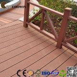 Assoalho composto plástico oco 140X25mm do Decking do café Fsc/Ce/SGS/ISO de WPC