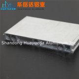 Profil expulsé en aluminium des graines en bois de bonne qualité pour faire la porte et le guichet