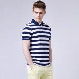 면/폴리에스테 폴로 셔츠, 남자를 위한 다채로운 색깔 면 폴로 셔츠