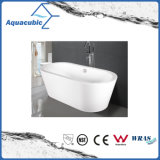 浴室の楕円形の支えがないアクリルの浴槽(AB1505W)