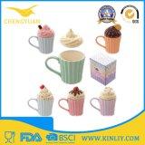 Tazza di caffè resa personale corsa di ceramica di alta qualità con figura di Fox