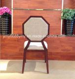 Restaurant d'effet de grain de bois de construction de haute performance dinant la chaise