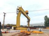 25 toneladas L guindaste de pórtico elétrico da viga da forma único com gancho
