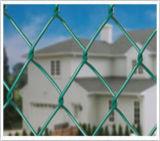 Rete metallica rivestita della rete fissa di collegamento Chain del PVC/del diamante/rete fissa collegamento del diamante