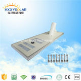 Qualität 100W integrierte Solar-LED-Straßenlaterne-kundenspezifische Solarbeleuchtung
