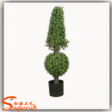 Bonsais plásticos da árvore do Topiary do Boxwood artificial quente da venda