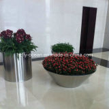 Fo-9003 Round Stainless Steel Flower Pot para Hotel Decorate