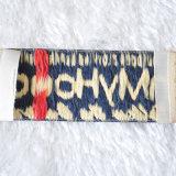 Ярлык ткани одежды одежды нестандартной конструкции высокого качества главным образом, сплетенный ярлык