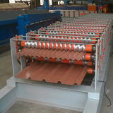 Roulis de tôle d'acier de couleur formant la machine