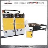Vier Farben-Wellpappen-Drucken, das stempelschneidene Maschine kerbt