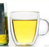 tazza di vetro doppia del latte della tazza di caffè della tazza di caffè della tazza 350ml