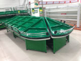 Présentoir de crémaillère de fruits et légumes de supermarché (YD-V001)