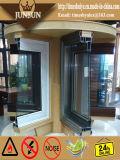 Portello di piegatura di vetro di alluminio superiore di vetratura doppia con AS/NZS2047