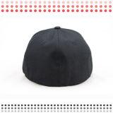6 бейсбольных кепок панели черных оптовых для сбывания