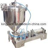 Máquina de mezcla y de rellenar de la calefacción automática para la crema líquida