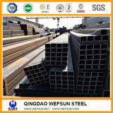 10X20mmから800X400mmの穏やかなカーボンブラック長方形鋼管