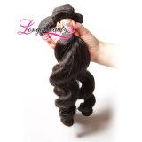 Сразу фабрика продавая самые лучшие реальные человеческие волосы индейца девственницы