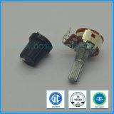 potenziometro rotativo di 16mm con l'interruttore per audio strumentazione