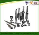 Pezzi di ricambio lavoranti del macchinario edile dei pezzi meccanici di CNC di alta precisione