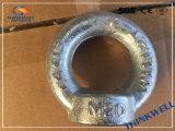 Écrou galvanisé forgé de vente chaud d'oeil DIN 582
