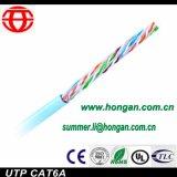 Cabo de transmissão de dados de UTP CAT6A no baixo preço