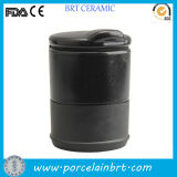 Funtional Cylinder Ceramic Portable Ashtray Wholesale