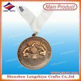 A annoncé la médaille avec la première lanière exquise d'impression de pente