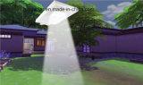 prezzo di fabbrica 6W Bridgelux tutto in un indicatore luminoso di via solare del LED