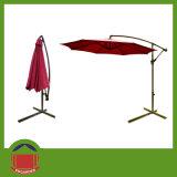 حمراء [بروون] لون جانب [بول] حديقة مظلة