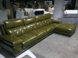Sofá moderno, sofá seccional, muebles caseros, sofá de cuero (A848)