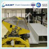 Vente chaude - convoyeur de roulis de tissu et système d'emballage après machine de textile