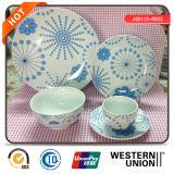 servicio de mesa de la porcelana 47PCS
