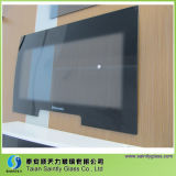 3mm-6m m Curved Toughened Tinted Safety Glass Panel para Washmachine