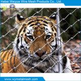Edelstahl-Drahtseil-Netz/Filetarbeit für Zoo Enlcosures