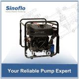 13HP 휴대용 디젤 엔진 진공 프라이밍 화재 수도 펌프