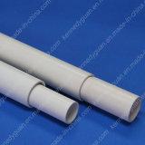 Tubulação lisa da canalização do PVC da extremidade