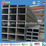 Tubo de acero cuadrado galvanizado caliente soldado A500 del carbón de ASTM