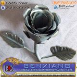 花を押す錬鉄の鋼鉄