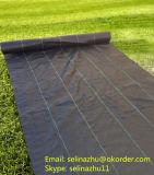 Tissu de barrière de Weed/tissu Cmax polypropylène tissé/couverture au sol/horizontal