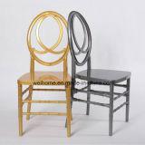 Cadeira de cristal do casamento da cadeira acrílica branca do evento da cadeira do policarbonato