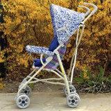 Einfacher Stoss-Stuhl-eindeutiger neuer Baby-PlastikSpaziergänger des Baby-2016