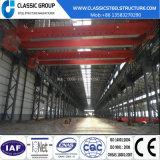 Prix de construction d'entrepôt/hangar/usine de structure métallique avec la grue