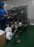 Atadura cirúrgica do algodão do tear da gaze que faz a máquina