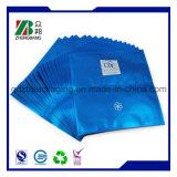 Três sacos cosméticos selados lado da máscara do empacotamento plástico de folha de alumínio