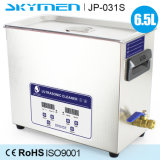 pulitore di ultrasuono 6.5liter con drenaggio per uso del laboratorio con il modo di spazzata (JP-031S)
